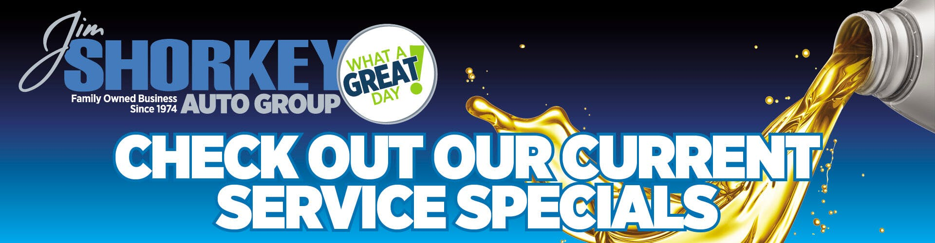 Check Out Our Current Service Specials!