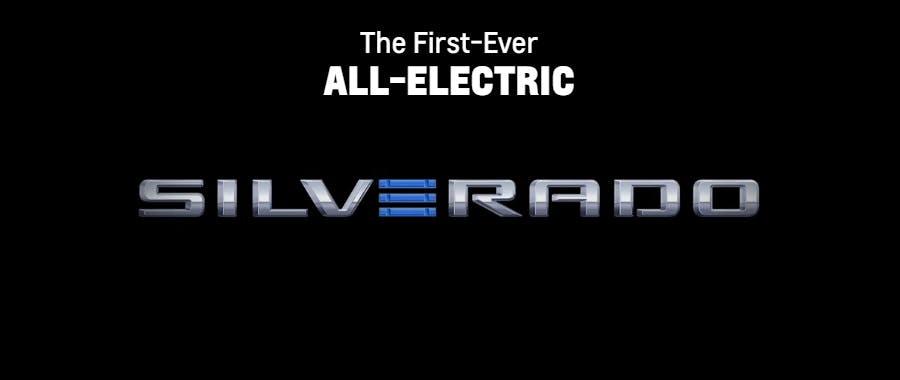 Introducing the All-Electric Chevrolet Silverado