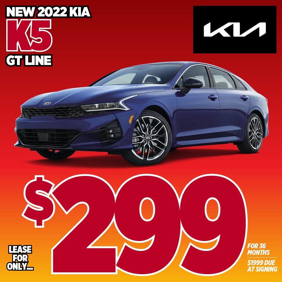2022 Kia K5 GT-Line