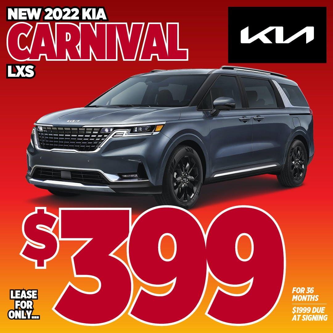 2022 Kia Carnival LX