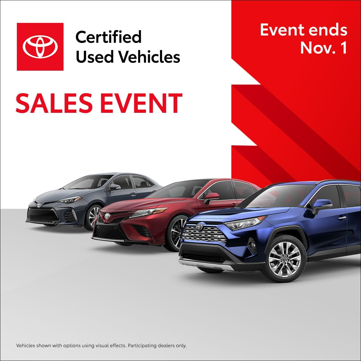 TCUV Sales Events