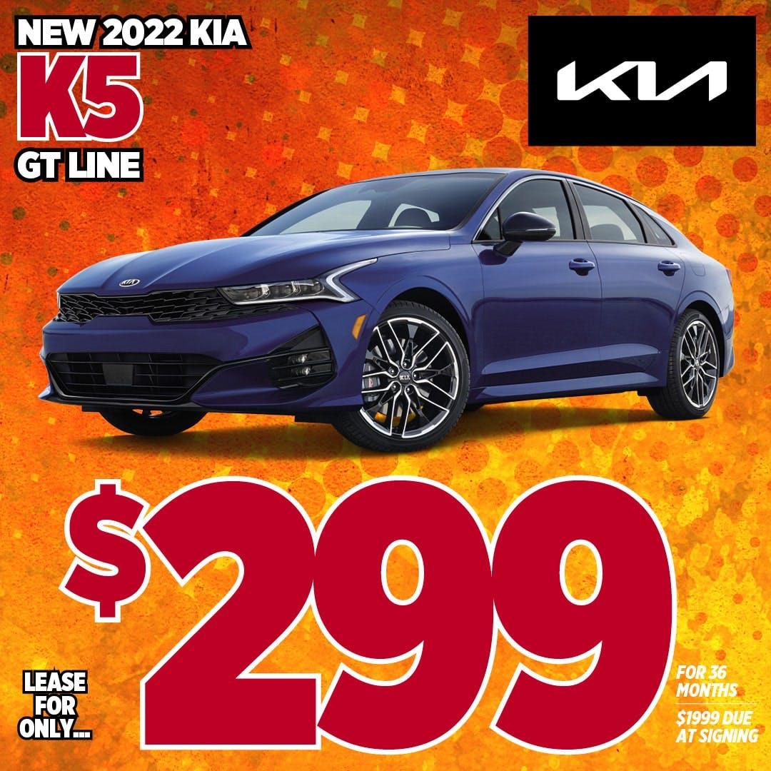 2022 Kia K5 GT Line