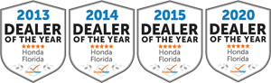 Brandon Honda Dealer Awards