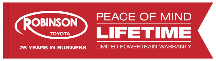 Peace of Mind With Robinson Toyota