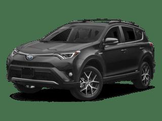 toyota RAV4 hybrid - front side