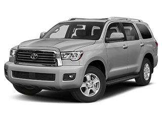 toyota sequoia - front side
