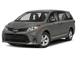 toyota sienna - front side