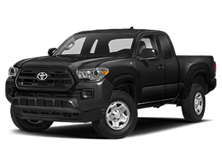 toyota tacoma - front side