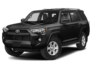 toyota 4runner - front side