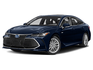 toyota avalon hybrid - front side