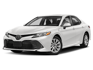 toyota camry - front side
