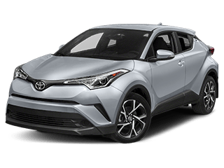 toyota C-HR - front side