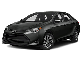 toyota 2019 corolla - front side