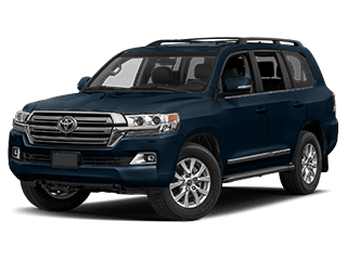 toyota land cruiser - front side