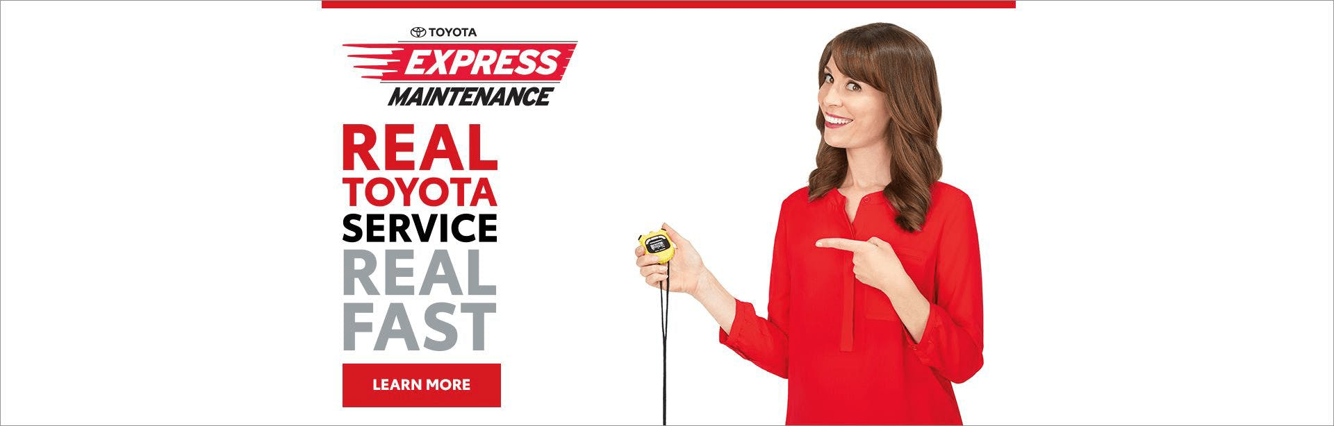 toyota express maintenance - banner - south hills toyota