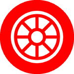 car wheel icon - college grad program