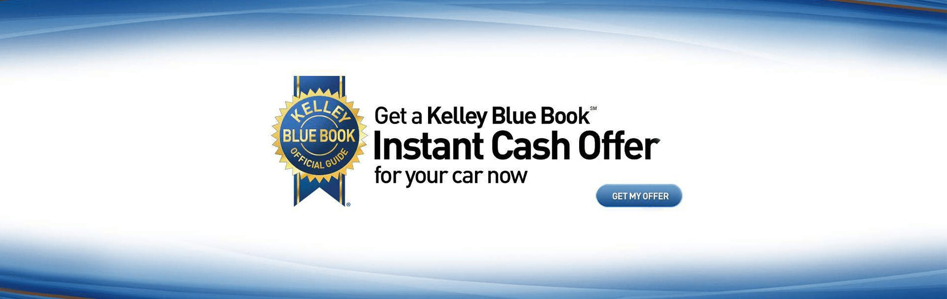 kelley blue book - instant cash offer special