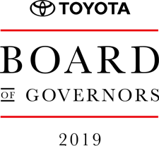 Toyota Board of Governors 2019